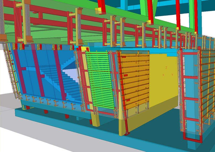 Конструирование фасадов технологического здания.